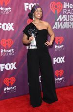Alicia Keys At 2019 iHeartRadio Music Awards in Los Angeles