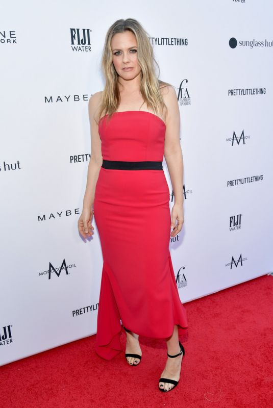 Alicia Silverstone At The Daily Front Row