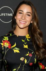 Aly Raisman At A&E Network Upfront in NYC