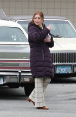 Alyson Hannigan On the set of Dodie & Cheryl Get Hitched in Vancouver