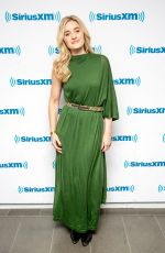 Amanda AJ Michalka Visits SiriusXM Studios in New York City