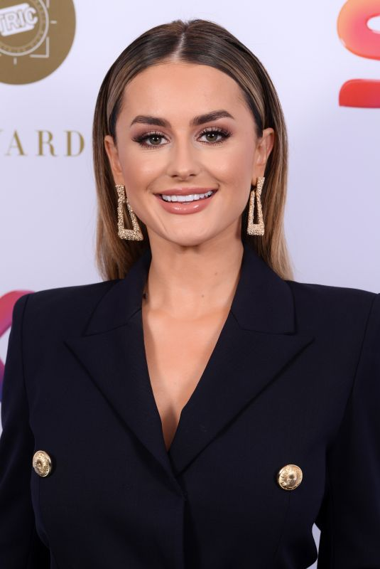 Amber Davies At The TRIC Awards in London