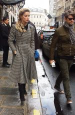 Amber Heard Leaving the Bristol hotel in Paris
