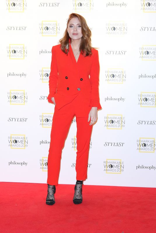 Angela Scanlon At Stylist