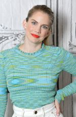 Anna Chlumsky At the BUILD Studio to discuss the final season of