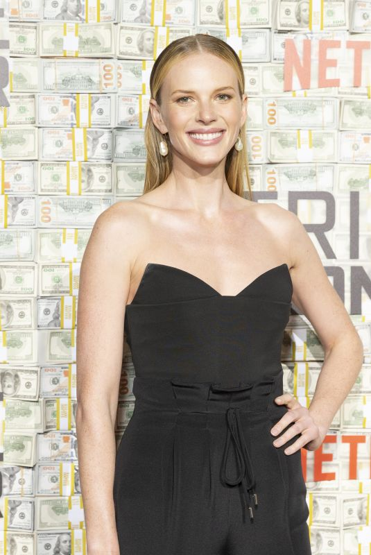 Anne Vyalitsyna At Netflix World Premiere of TRIPLE FRONTIER