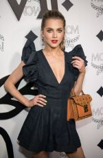 Anne Winters At MCM Global Flagship Store Opening in Beverly Hills