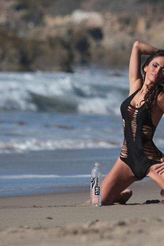 Ari Lezama Shooting an advert of 138 Water on Amazon in Malibu