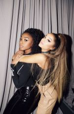 Ariana Grande & Normani Backstage at Sweetener World Tour in Buffalo