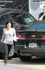 Ariel Winter Leaving a studio in Studio City