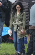 Ariel Winter On the set of Modern Family Season 10 in Los Angeles