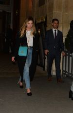 Ashley Benson Heads out for the night in Paris