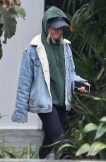 Ashley Tisdale Shopping on a rainy day in West Hollywood