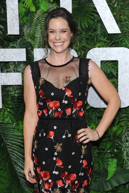 Ashley Williams At NETFLIX World Premiere of Triple Frontier at Jazz at Lincoln Center in New York