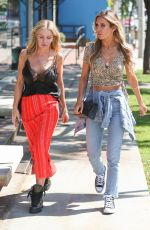 Audrina Patridge Outside Couture Kids in West Hollywood