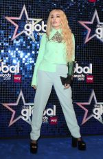 Ava Max At The Global Awards 2019 with Very.co.uk in London