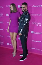 Barbara Palvin Pretty in pink during the Pink Carpet of the S/S Liverpool Fashion Fest 2019 in Mexico City