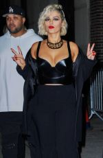Bebe Rexha Out in Manhattan in New York City