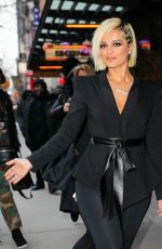 Bebe Rexha Out in New York City