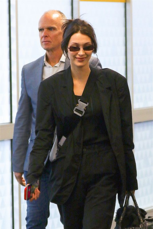 Bella Hadid At JFK