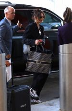 Bella Hadid At JFK Tuesday afternoon for flight out of New York