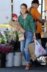 Bethany Joy Lenz At the Farmer