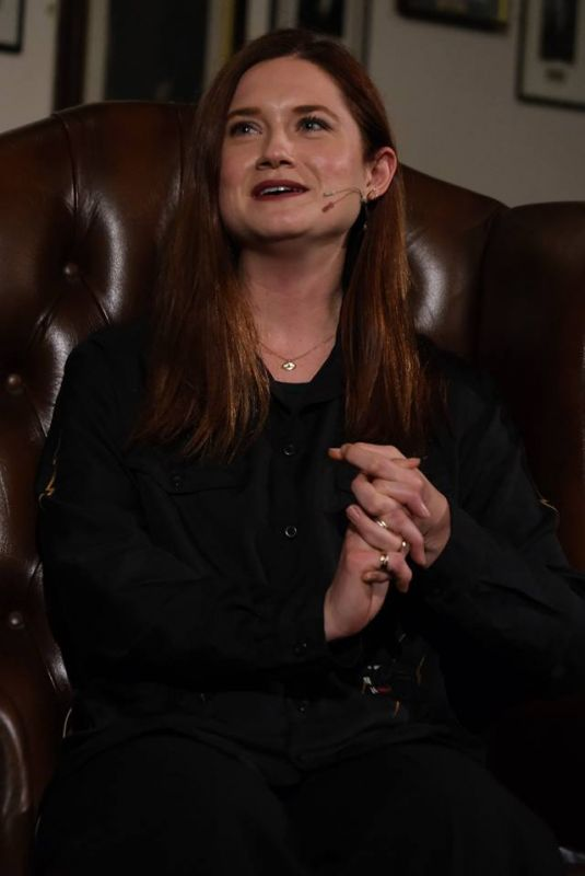 Bonnie Wright Addresses students at The Cambridge Union in Cambridge