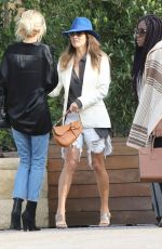 Brooke Burke Leaving the Soho House in Malibu