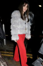 Brooke Vincent Pictured arriving at Menagerie bar in Salford