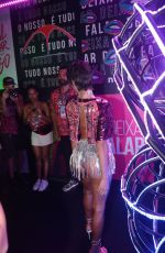 Bruna Marquezine Shows off a new look at the Sambadrome Marques de Sapucai for Carniva in Rio de Janeiro