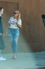 Busy Philipps and co-star stop for selfies while filming in LA