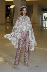 Camila Coelho At Giambattista Valli show, Fall Winter 2019, Paris Fashion Week