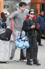 Camila Mendes Spotted while moving into Charles Melton