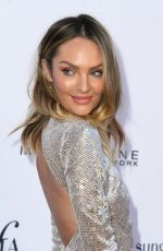 Candice Swanepoel At Daily Front Row