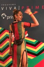Candice Swanepoel At Programa Viva Prime Event in Bahia