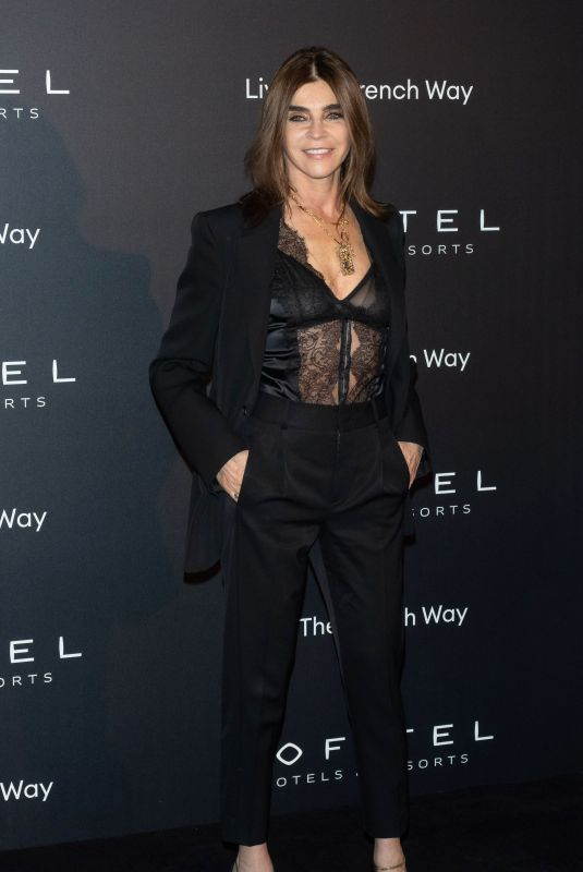 Carine Roitfeld At La Nuit party, Paris Fashion Week, France