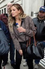 Carly Pearce Leaving BBC Radio 2 Studios in London