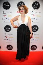 Carrie Hope Fletcher At 19th WhatsOnStage Awards in London