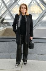 Catherine Deneuve Attends the Louis Vuitton show as part of the Paris Fashion Week Womenswear Fall/Winter 2019/2020