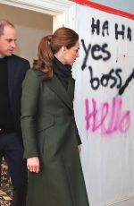 Catherine, Duchess of Cambridge Visits a house on Kirby Road in Blackpool, England