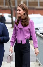 Catherine, Duchess of Cambridge Visits Henry Fawcett Children