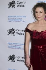 Catherine Zeta-Jones At The Royal Welsh College of Music and Drama Gala in New York