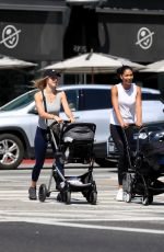 Chanel Iman Out for a stroll in West Hollywood