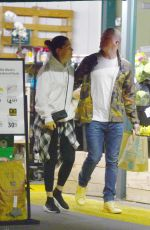 Channing Tatum & Jessie J Make a late evening grocery shopping trip in LA
