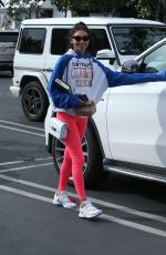 Chantel Jeffries Out for lunch at Italian eatery Mauro
