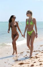 Chantel Jeffries & Sarah Snyder In a bikini at Miami Beach