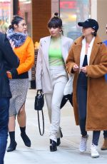 Charli XCX Leaving her hotel in NYC