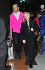Chloe Grace Moretz Arriving at the CDG Airport in Paris