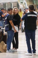 Chloë Grace Moretz At the airport in Puerto Vallarta