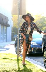 Chrissy Teigen Shopping at Couture Kids in West Hollywood